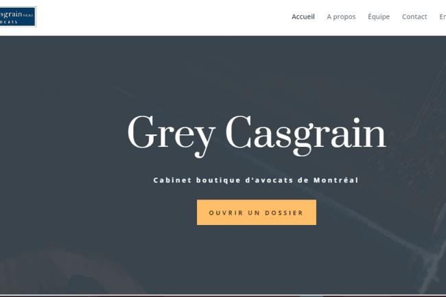 Grey Casgrain Cabinet boutique d'avocats de Montréal