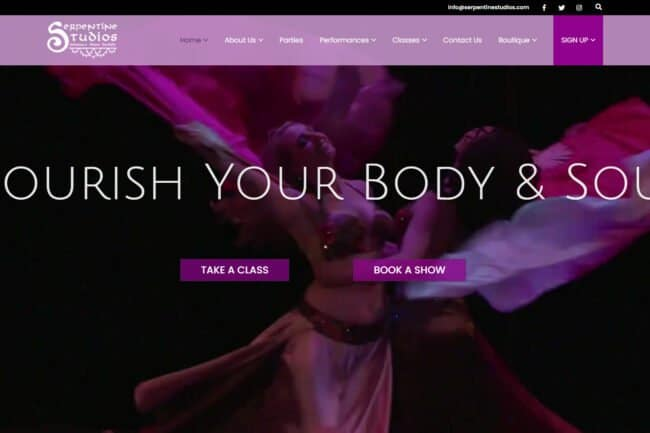 Serpentine Studios Home Page